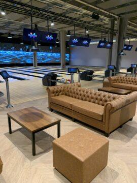 terrasses en roof top, bar à cocktail tendance, nouveau restaurant club bowling pro saint etienne cours de bowling gratuite